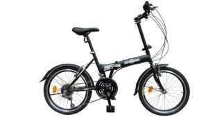 ecosmo 50,8cm Vélo de ville vélo pliant neuf 21sp–20F03bl