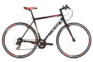 KS Cycling Velocity Vélo de route Noir 28″