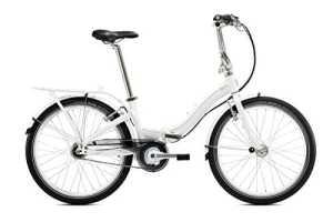 tern Castro P7i – Vélo pliant – 24″ marron/blanc 2016 velo pliable