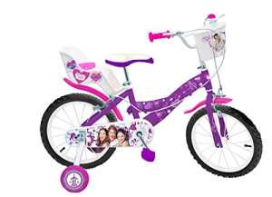 Toimsa – 587 – Vélo Pour Enfant – Fille – Violetta – 16″ – 5-8 Ans