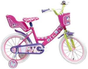 Disney Minnie Mouse Vélo Enfant Rose 16″