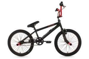 KS Cycling Dynamixxx Vélo BMX Freestyle 20″ Noir/Rouge