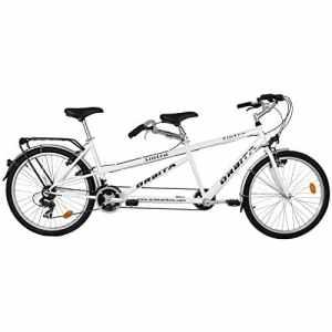 Vélo tandem VTC Orbita Sintra Blanc