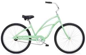 'Electra Cruiser 1 Vélo de 26 vert Beach Cruiser Femme Rétro Single Speed, 512991
