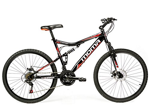 Vélo Tout Terrain 26″ VTT SHIMANO, double disque et double suspension