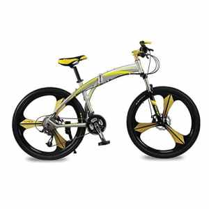 VTT semi-rigide Vélos plaints Hommes vélo Cadre en aluminium 26 pouces Shimano 27 Vitesses Magnésium intégré roue 3 Rayons Rich Bit® RT-601 Jaune