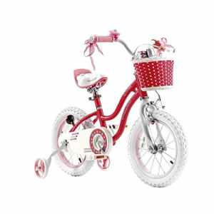 Royal Baby Star Vélo Mixte Enfant, Rose, 14″