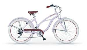 Mbm – Honolulu Femme Custom Cruiser 26» Bicyclette Vélo Femme 6S Lavande