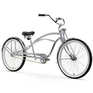 Firmstrong Urban Homme Deluxe Single Speed stretch Beach Cruiser Vélo, chrome