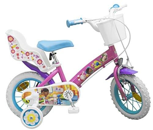 Toimsa – 630 – Vélo pour Enfant – Docteur La Peluche – Fille – 12″ – 3 à 5 ans