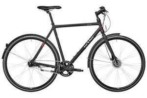 Ortler Gotland – Vélo de ville Homme – noir Taille de cadre 55 cm 2017 velo ville femme