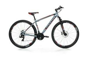 Moma Bikes BIG29G18 Vélo Vtt Mixte Adulte, Gris, Taille : L