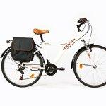 Moma Bikes Bihybbun Vélo de Ville Mixte Adulte, Blanc