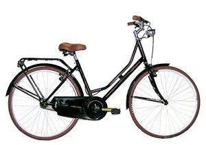 FREJUS Bristol, vélo de ville Femme, Noir, M