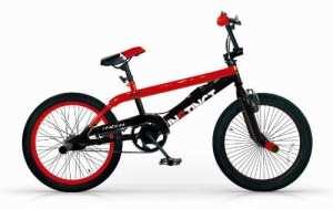 Mbm – Bmx Instinct 20» Freestyle Free Style Bicyclette Vélo 1S Rouge