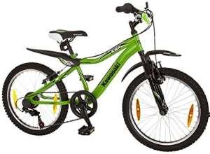 KAWASAKI Vélo pour enfant garçon kbx20, 20pouces 6vitesses, V de freins 50,8cm (20pouces)
