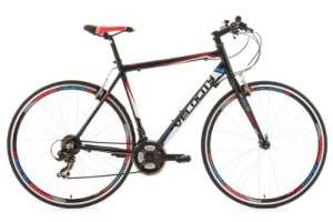 KS Cycling 124R Velocity Vélo de Route Noir 28″