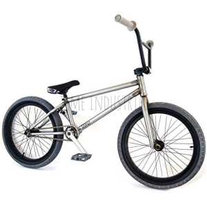 Ligne BMX Vélo complet 50,8cm Raw/gris–Flybikes Ilegal BSD Freestyle Light New solide