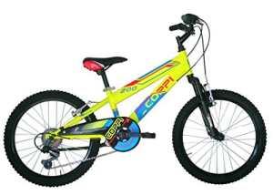 Coppi RM2U20206BA.27GI Vélo btt pour Enfant Garçon, Jaune, Taille : 20 Pouces