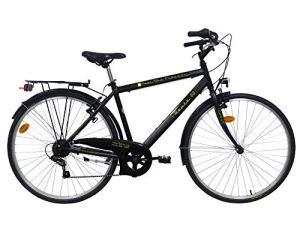 ROUTE 66 Vélo VTC Aluminium Trekking 28″ 6 Vitesses Homme