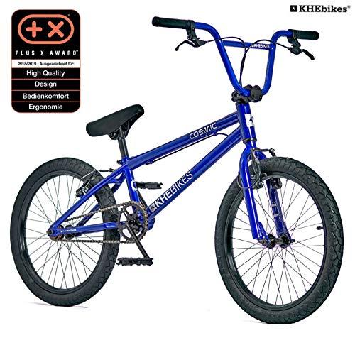KHE BMX Cosmic Vélo 20″ avec Moteur Affix Bleu 11,1 kg