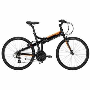 tern Joe C21 – Vélo pliant – 26″ orange/noir Taille de cadre 45,7 cm 2018 velo pliable