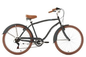 KS Cycling Cruizer Vélo Gris/Anthracite 26″