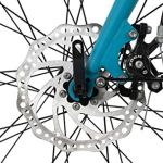 KS Cycling VTC Femme 28» Aluminium Antero Turquoise TC 48