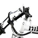Nilox velo electrique pliable adulte DOC X1, Vitesses de 25 Km/h , Blanc, Taille One Sizeque