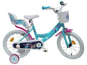 Vélo 16» fille licence Frozen/Reine des Neiges – 2 freins