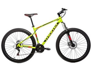 Moma Bikes BIPLSA20 Vélo Vtt Mixte Adulte, Jaune, Taille : L-XL