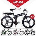 GUOWEI Rich BIT RT-860 36V 12.8AH 250W Vélo Pliant électrique vélo Tout Suspendu vélo de Ville (Black-Gray)