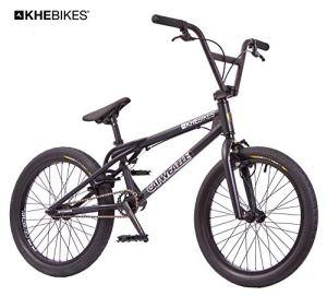 KHE Vélo BMX Catweazle breveté Affix 360° Rotor 20″ Noir seulement 11,4 kg