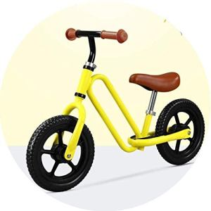 FQCD Vélo Bébé sans Pédales DraisienneUn à Quatre Ans Baby Vélo Enfant Jouet Educatif Baby Walker, Premier Anniversaire Cadeau pour (Color : Blue, Size : 87 * 53-57cm)