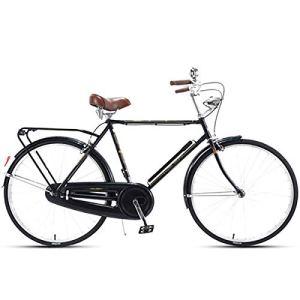 LIXIGB Vélos Cruiser pour Femmes, Vélo Serein Classic Comfort Comfort Bike,Noir,28inch