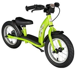 Bikestar Vélo Draisienne Enfants pour Garcons et Filles DE 2-3 Ans ★ Vélo sans pédales évolutive 12 Pouces Classique ★ Vert
