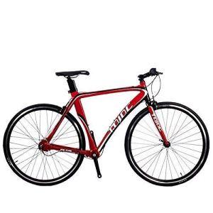 Sports de plein air banlieue ville vélo de route vélo montagne R100 700C route professionnelle pour hommes et femmes vélo étudiant haute précision arbre d'entraînement sans chaîne intérieure 3 vite