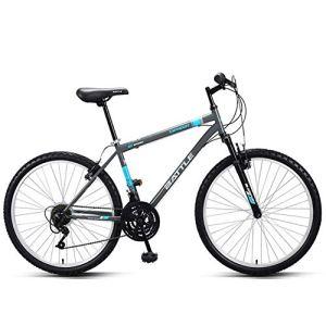 Sports de plein air vélo de route de ville de banlieue vélo de montagne 26 pouces route 18 vitesses adulte cadre en acier à haute teneur en carbone vélo de ville vélo de ville avec amortissement fo