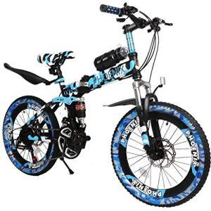 ZTBXQ Sports de Plein air Banlieue Ville vélo de Route vélo Voyage Enfants vélos vélos pour Enfants garçon vélos de Vitesse 6-15 Ans VTT