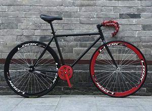 ZTYD Vélo de Route, 26 Pouces, prêt de vélos Système de freinage arrière, Armature en Acier au Carbone à Haute, Route de vélos de Course, et Les Femmes Adultes Hommes,T