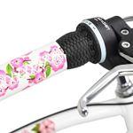 KS Cycling Beachcruiser 24» Cherry Blossom 6 Vitesses Bleu-Rose TC 41 cm Vélo Fille, 41