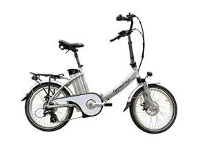xgerman électriques vélo pliant 20«eturbo Comfort 7g Shimano LCD, 250W HR Entraînement/10ah, portée jusqu'à 80km après STVZO