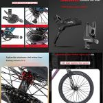 BIKERISK Vélo de Montagne à Queue Souple en Fibre de Carbone VTT Double Choc Vélo de Montagne Convient pour XC/AM/DH etc,6,29 * 17.5