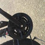 CSS Vélo, VTT 26 pouces, vélo de montagne à queue dure en acier à haute teneur en carbone, vélo léger avec siège réglable, vélo à frein à disque double 7-10,UNE