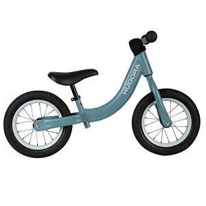 Hudora 10420/00 Comfort Vélo pour Enfant avec pneus à air 12″ à partir de 3 Ans avec Selle réglable en Hauteur Bleu