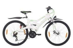 KS Cycling 190M Vélo Mixte Enfant, Blanc