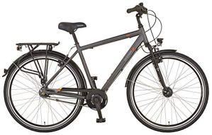 Prophete GENIESSER 20.BMC.10 Vélo de Ville 28″ pour Homme Anthracite RH 52