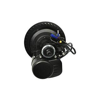 Pswpower Kit écran LCD TSDZ2 Mid-Engine 36V350W LCD VLCD5 Fonction côte à vélo/Fonction de Frein à Pied (Entrepôt Allemand)(AD) PTS-VLCD5-BK