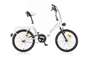 Vélo Pliant Aurelia Folding 20 Pouces Blanc