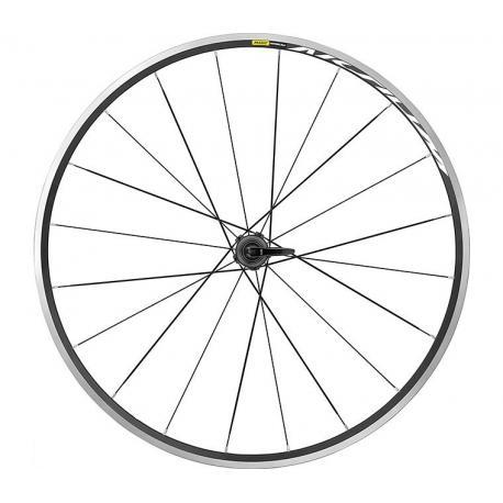roue a pneu 700 mavic route aksium noir decor blanc arriere velo 9